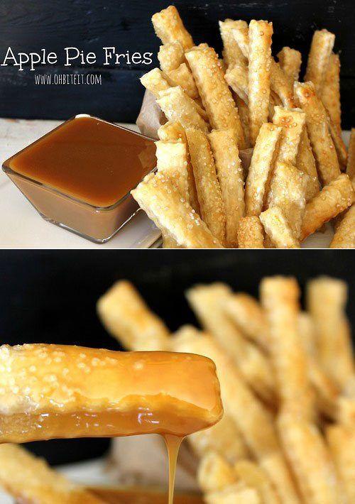Apple pie fries | Food | Pinterest