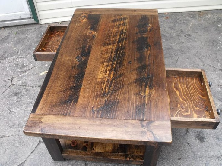 Rustic CoffeeEnd TablesCustom MadeHand Crafted