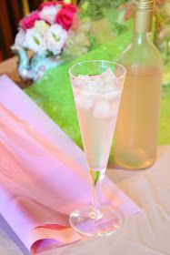 Cloudy Pink Old Fashioned Lemonade | baby shower | Pinterest