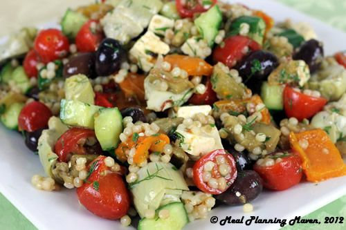 Roasted Mediterranean Eggplant Salad, Company Picnic Ideas, Company Picnic Recipes
