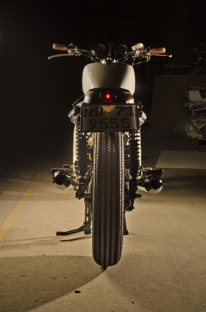 My Cx 500 Brat Style Custom