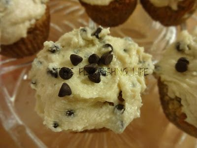 ... Sugar Free Vanilla Cupcakes With Chocolate Chip Cookie Dough Frosting