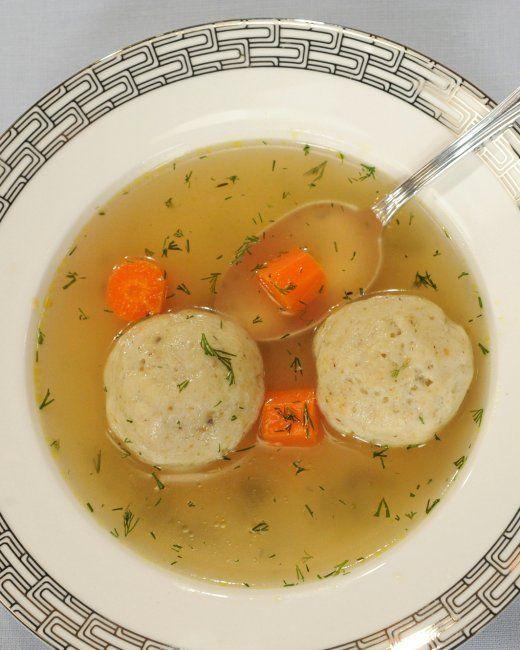 ... Matzo Ball Soup Of course substitute with gluten free matzo balls