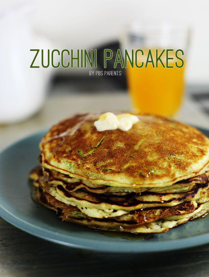 "zucchini pancakes: "" adding shredded zucchini to pancake batter ..."