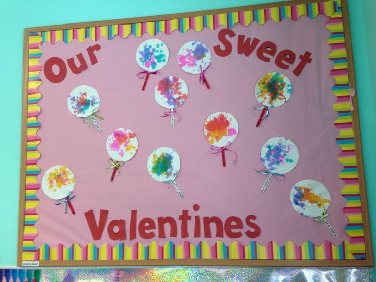 Valentines bulletin board! | Classroom | Pinterest