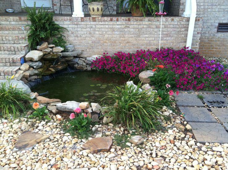 Backyard Koi Goldfish Pond Home Ideas Pinterest