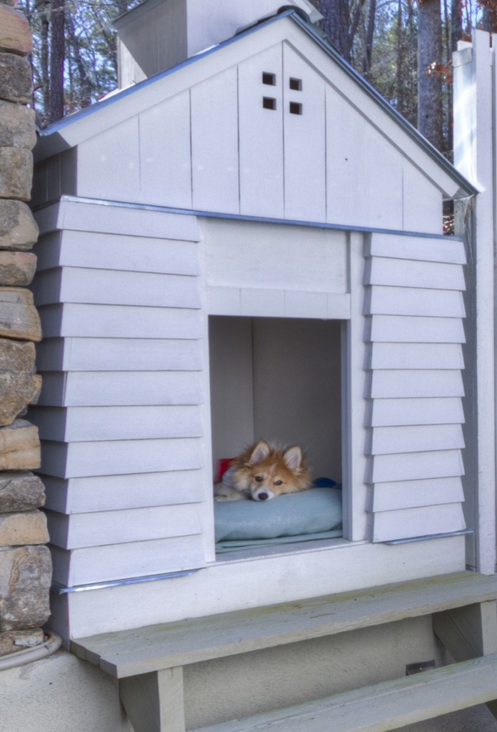 Custom Dog House Details Pinterest