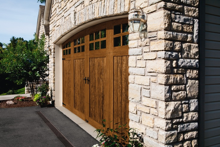 Pin by clopay garage doors and entry doors on faux wood for Clopay wood garage doors