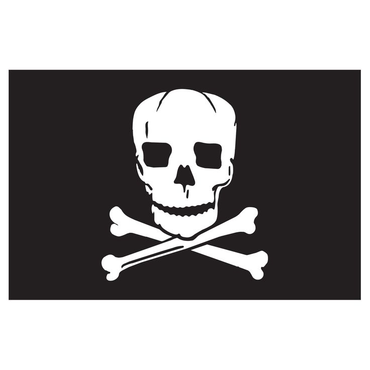 jolly roger flag tattoo