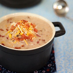Jalapeno Popper Chicken Chili Soup — http://punchfork.com/recipe ...