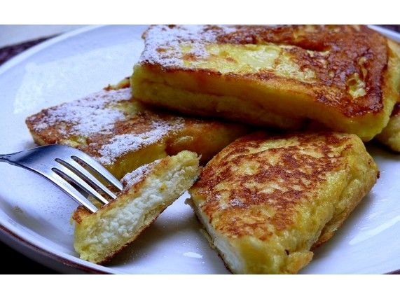 Cannoli French Toast for National French Toast Day!