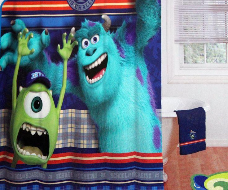 Monsters University Shower Curtain | KIDS | Pinterest