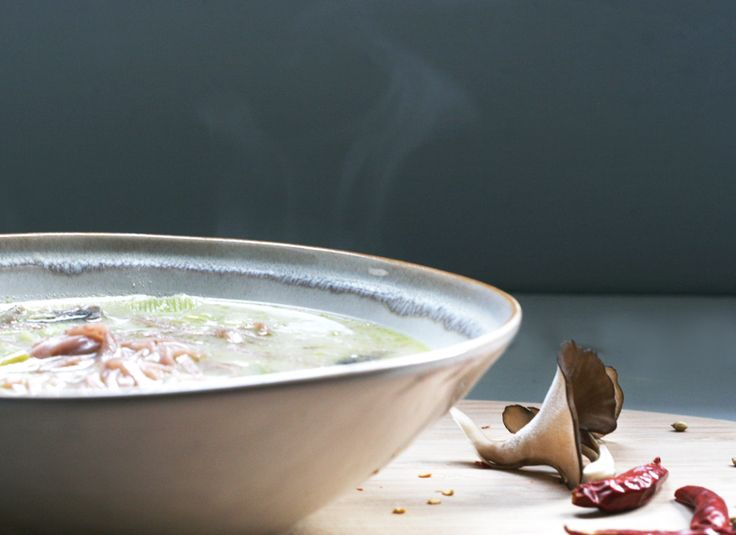 Thai coconut and lemongrass noodle soup | Soup | Pinterest