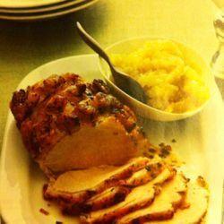 Roast Loin of Pork & Apple Compote | Food is Love | Pinterest