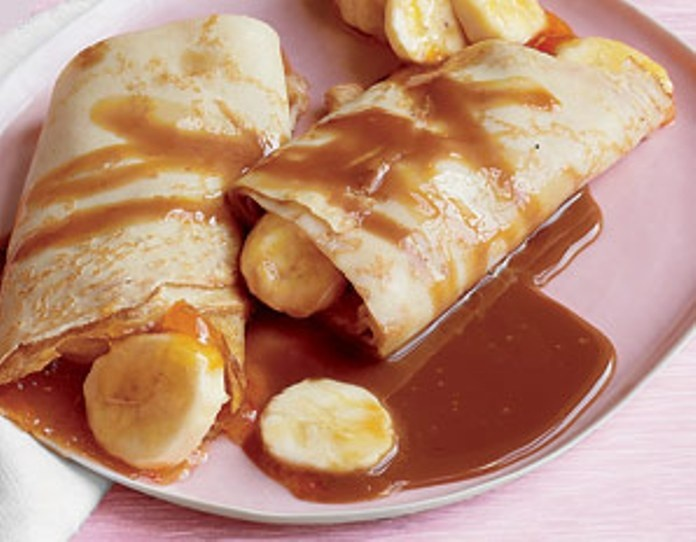 Banana Crepes Recipes — Dishmaps