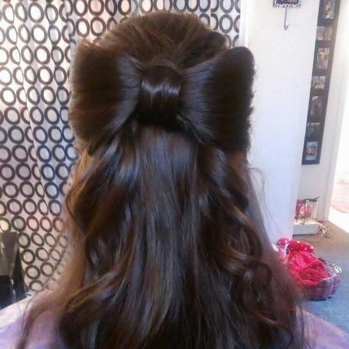 Cute bow hairstyle kiki s korner stuff my daughter would love