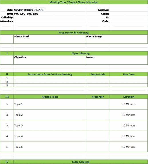 creative meeting agenda template .
