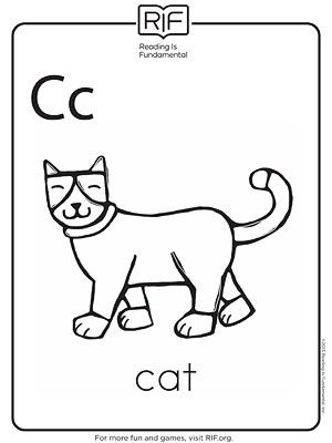 c coloring page  Printable Alphabet Coloring Pa...