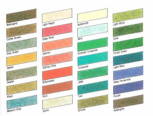 Color Palette Soft Autumn Colors Color Analysis