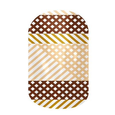 Gimme Smore nail wraps by Jamberry Nails August 2013 Sister's Style ...
