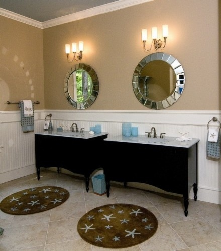 Stand Alone Sinks For Bathroom : like idea of two stand alone sinks Beautiful Bathrooms Pinterest