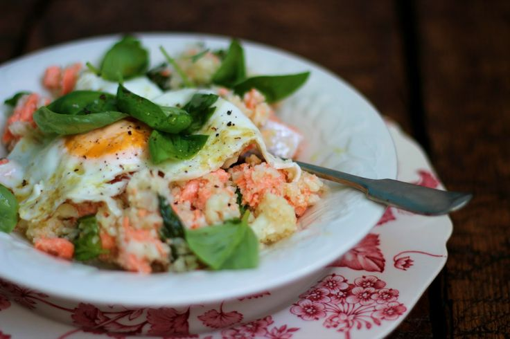 cauliflower 'couscous' tossed with basil, lemon and extra virgin oliv...