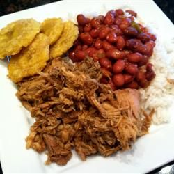 Slow Cooker Pernil Pork Allrecipes.com. Made this tonight and it was ...
