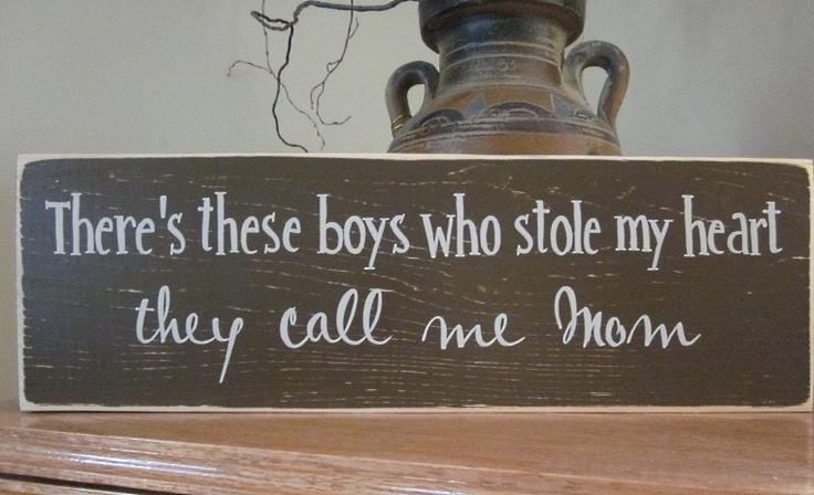 Yes, my heart belongs to my boys!