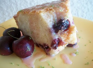 Cherry Limeade Pound Cake | Cooking with Cristine | Pinterest