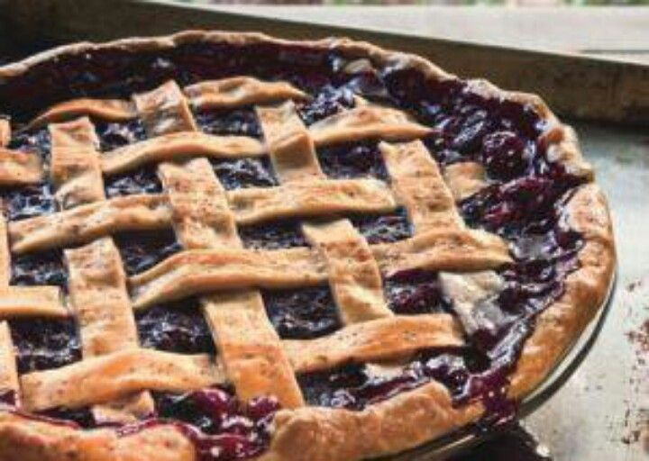 Old Fashioned Blueberry Pie | A Piece Of The Pie | Pinterest