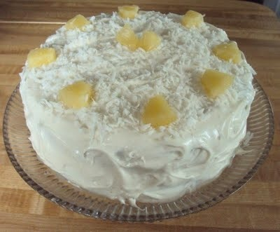 cream cheese tropical carrot cake with coconut cream cheese frosting ...