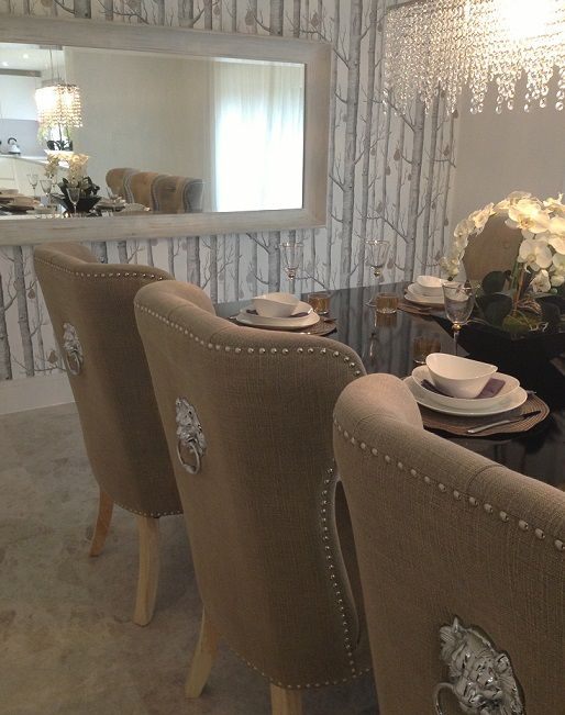 Pin by marcy mcdowell on things i like love and want for Dining room head chairs