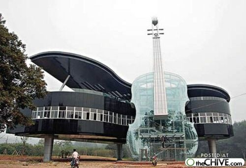 """...this is a house! """"instrument house"""""""