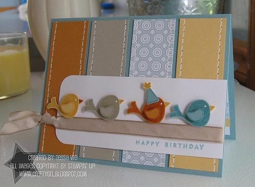 Homemade cards...