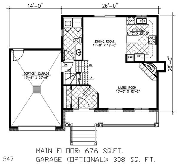Floor Plan First Story Garage Apartment House Plans