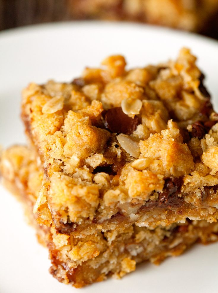 oatmeal-carmelitas | Yummy in my tummy | Pinterest