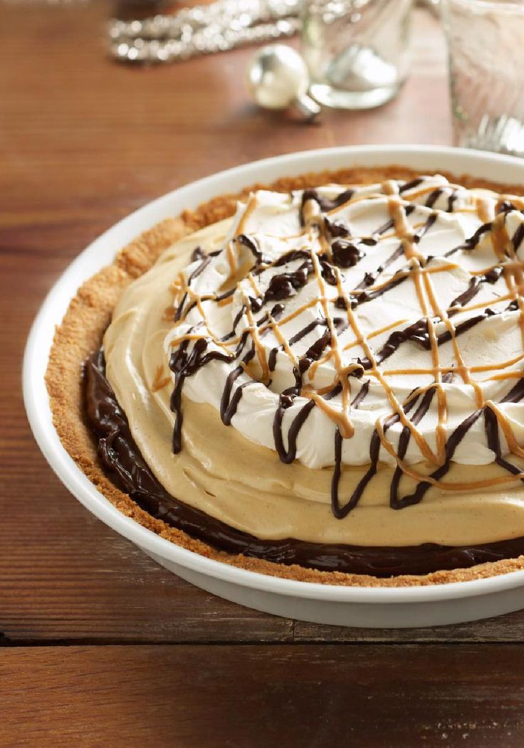 Mile-High Peanut Butter Pie – What's better than layer upon layer ...