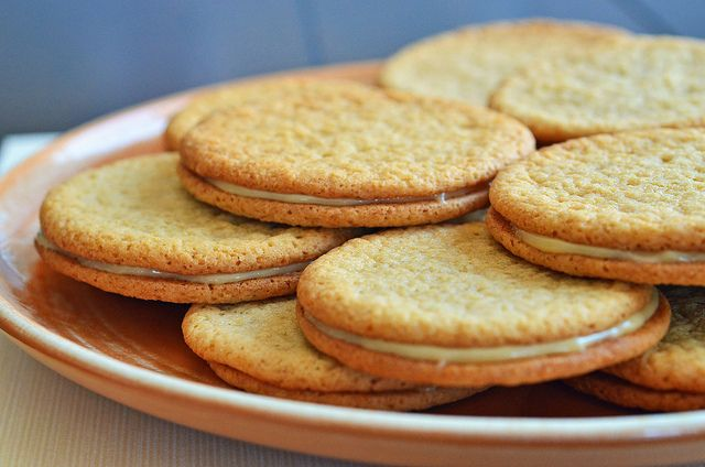 dish dulce de leche sandwich cookies recipe on food52 dulce de leche ...