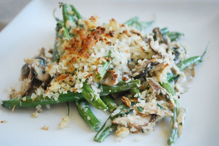 mushrooms green beans with creamy mushrooms and shallots recipe key ...