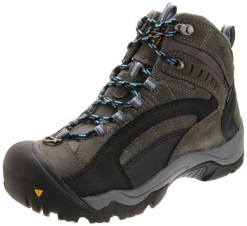 KEEN Women's Revel Waterproof Boot Leather-and-fabric Rubber sole