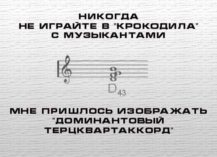 Музыка Анекдоты