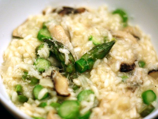 Dinner Tonight: Asparagus and Shiitake Risotto | Recipe