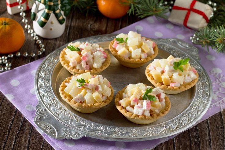 Рецепты тарталеток к праздничному столу