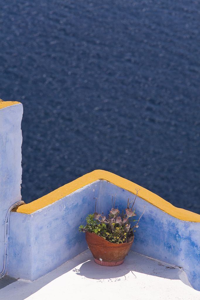Oia balcony Santorini , Greece
