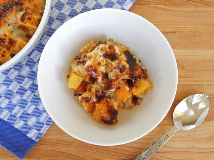 Roasted Butternut Squash Gratin with Gruyère and Walnuts But i'm ...