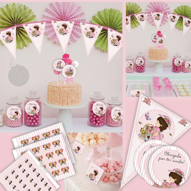 kit decoracao jardim encantado: by Paper Party Design on Kit Pronto Festa Jardim Encantado