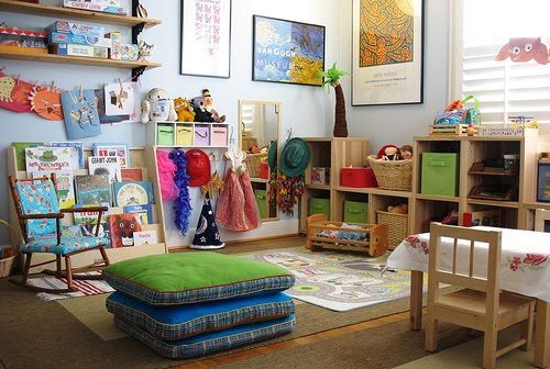 Kids' Play Space Idea