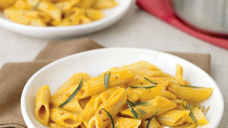 Penne with Creamy Pumpkin Sauce Recipe | Recipes I want to try | Pint ...