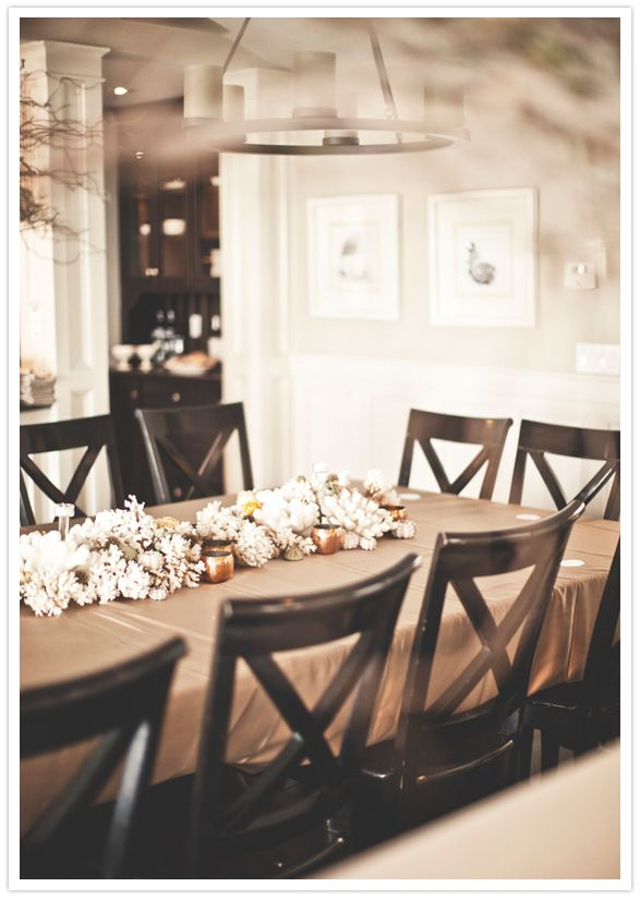 Family Style Dining Table Tablescapes Pinterest