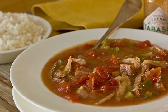 Southern Family Recipe: Chicken & Andouille Sausage Gumbo Recipes from ...